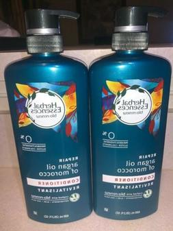 2 × Herbal Essences Bio Renew Repair Argan OIl Hair Conditi