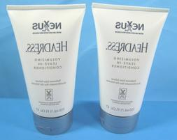 2 x Nexxus Headress Salon Volumizing Leave-In Hair Condition