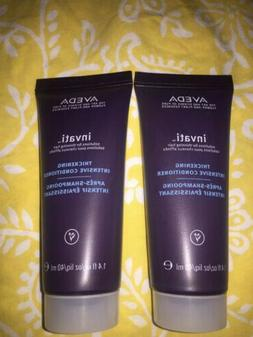 2x Aveda invati thickening conditioner solutions for thinnin