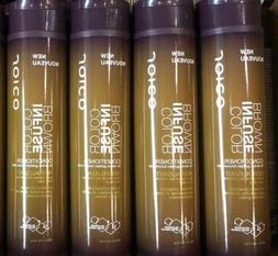 4 Joico Color Infuse Brown Conditioner  10.1 Oz Each