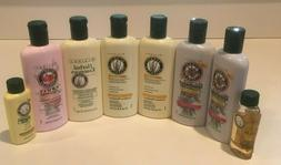 8 Vintage Herbal Essences conditioners & shampoo normal hair