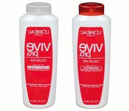 L'oreal Paris Vive Pro Color Vive Shampoo & Conditioner, for