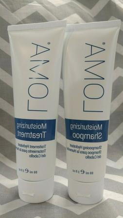 LOMA Moisturizing SHAMPOO & TREATMENT Conditioner Set All Ha