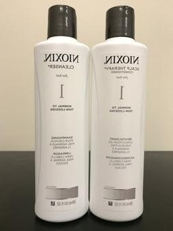 Nioxin System 1 Cleanser and Scalp Therapy Duo, Shampoo and