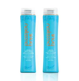 PURE BRAZILIAN Anti Frizz Daily Shampoo & Conditioner - Salt