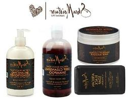 SHEA MOISTURE AFRICAN BLACK SOAP HAIR MASQUE, CONDITIONER, S