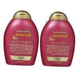 OGX Anti-breakage Keratin Oil Shampoo & Conditioner