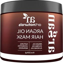 ArtNaturals Argan Oil Hair Mask - Deep Conditioner - Sulfate