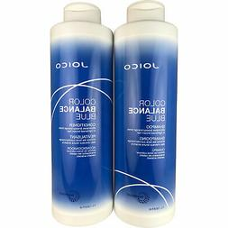 Joico Color Balance Blue Shampoo & Conditioner 33.8 oz Liter
