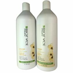 Matrix Biolage Smooth Proof Shampoo+Conditioner 33.8 oz ea f