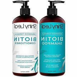 Biotin Hair Growth Shampoo and Conditioner Set Anti Hair Los