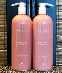 Alterna Caviar Anti-Frizz Shampoo & Conditioner 33.8 Liter S