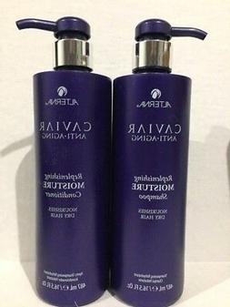 Alterna Caviar Moisture Shampoo/Conditioner 16 oz Duo parabe