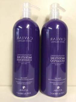 ALTERNA Caviar Moisture Shampoo/Conditioner 33 oz Duo parabe