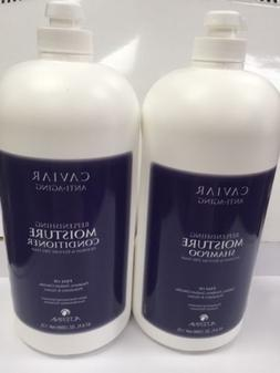 ALTERNA Caviar Moisture Shampoo/Conditioner 64 oz Duo parabe