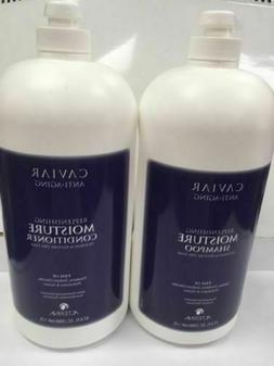 ALTERNA Caviar Moisture Shampoo/Conditioner 67 oz Duo parabe