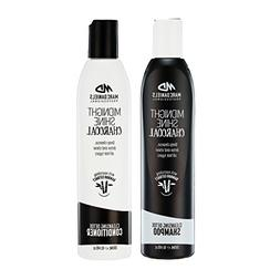 Charcoal Clarifying Shampoo & Conditioner Set Sulfate Free w