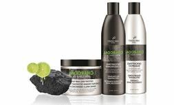 charcoal with citrus oil detoxifying hair shampoo