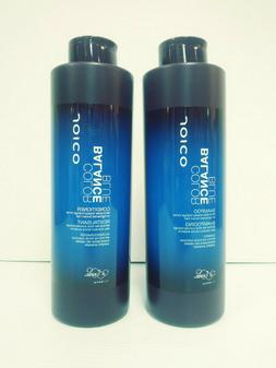 Joico Color Balance Blue Shampoo, Conditioner 33.8 oz Liter