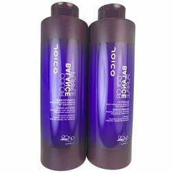 Joico Color Balance Purple Hair Shampoo and Conditioner Duo