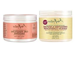 Shea Moisture Conditioner & Smoothie Combination Pack –Str