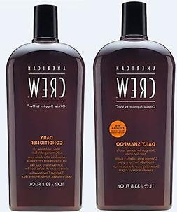 American Crew Daily Shampoo and Conditioner 33.8 Fl. Oz. 33.
