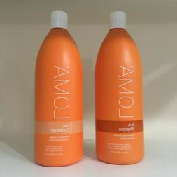 Loma Daily Shampoo & Conditioner For All Hair Types - 33.8 o