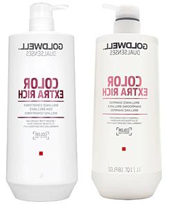 Goldwell Dualsenses - Color Extra Rich Shampoo Conditioner D