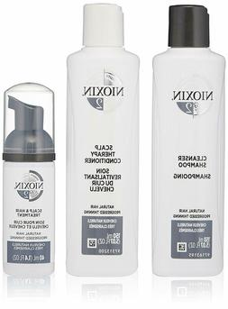NIOXIN HAIR CARE KITS - shampoo / conditioner / treatment  -
