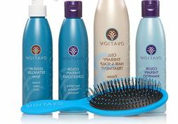 Ovation Hair Scalp Treatment Cell Therapy SET COLOR Shampoo