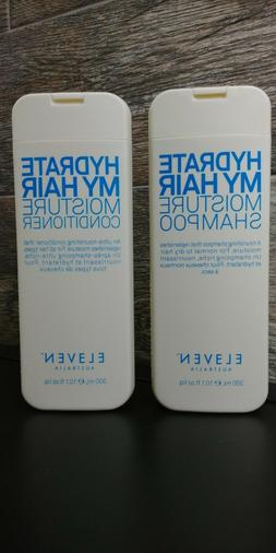 Eleven HYDRATE MY HAIR MOISTURE Shampoo & Conditioner 10.1 o