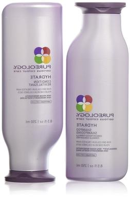 hydrate shampoo and conditioner set for dry