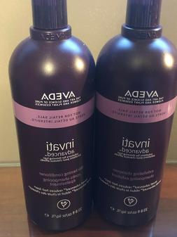 AVEDA Invati solutions for thinning hair LITER SET shampoo &
