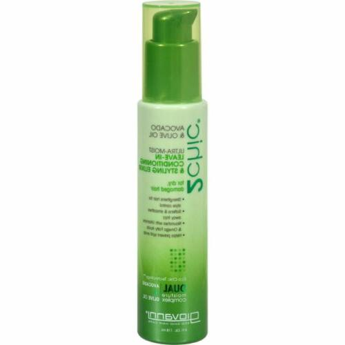 Giovanni 2chic Avocado and Olive Oil Ultra-Moist Leave in Co