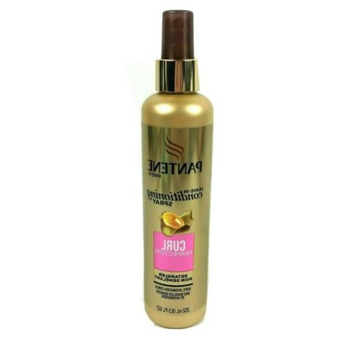 3 Pantene Pro V Leave In Conditioner Spray Curl Perfection D