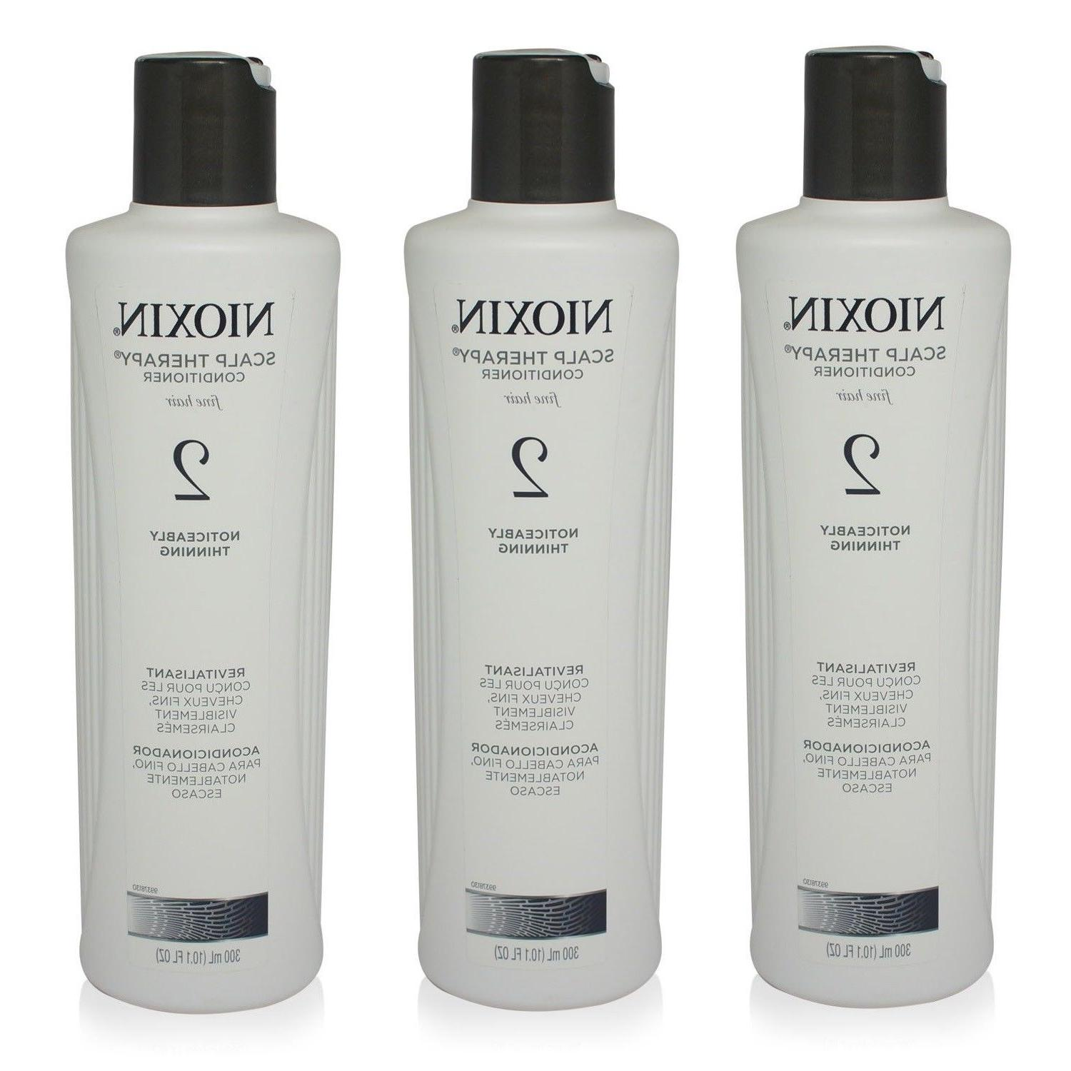 3 NIOXIN Scalp Therapy Conditioner System 2 Fine Hair 10.1 f