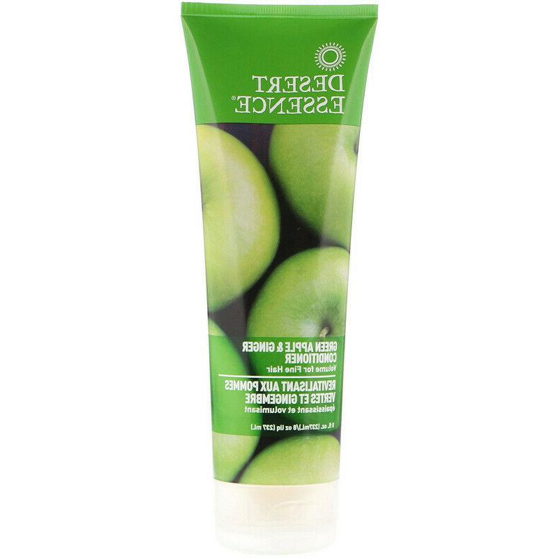 Desert Essence Green Apple and Ginger Thickening Conditioner