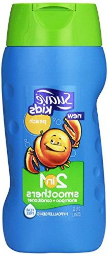 Suave Kids 2 in 1 Shampoo + Conditioner, Peach Smoothers 12