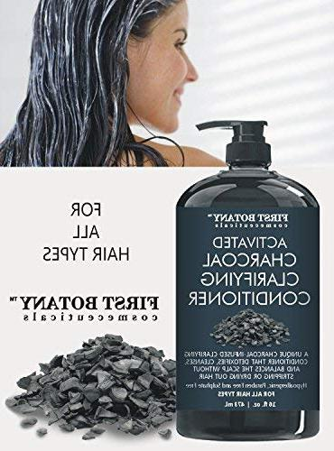 Activated Professional Hair Conditioner for Women - Sulfate Volumizing & on Curly & Treated Keratin.