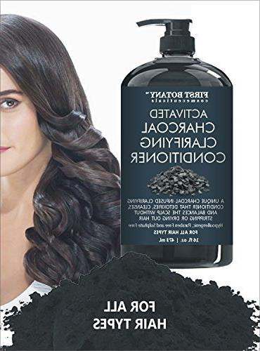 Conditioner Men and - Free - Volumizing & on Curly Treated with Keratin.