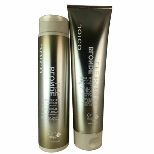 blonde life brightening hair shampoo and conditioner