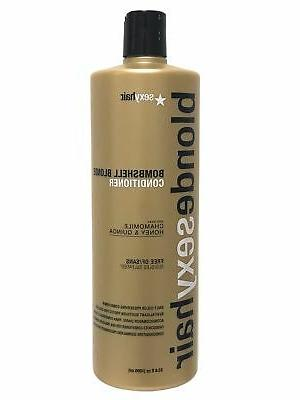blonde sulfate bombshell conditioner