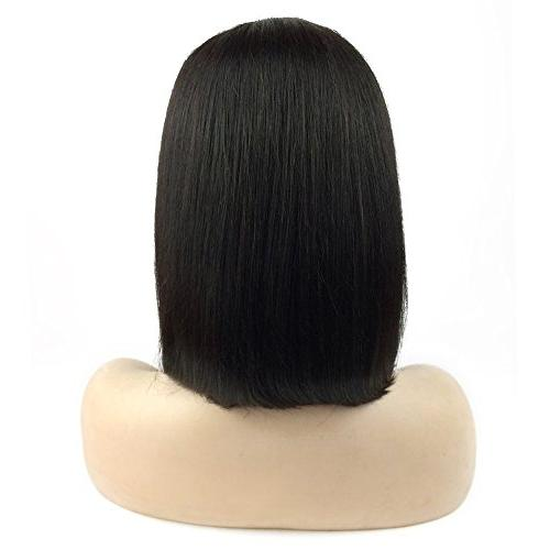 10 Front Wigs Hair Short Wigs with Baby Hair Part Unprocessed Brazilian Hair