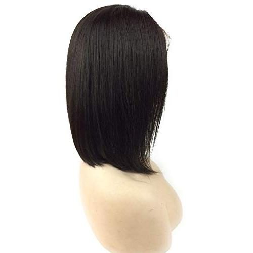 10 Bob Front Wigs Hair Short for with Hair Hair Natural