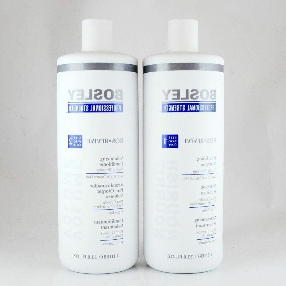 bos revive shampoo and conditioner for non