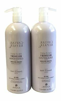 Alterna Caviar Instant Recovery Shampoo and Conditioner 33.8