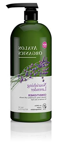 Avalon Organics Nourishing Lavender Conditioner, 32 oz.