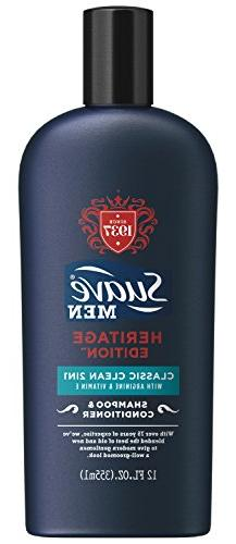 Suave Men 2 in 1 Shampoo and Conditioner, Classic Clean 12 o