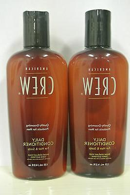 AMERICAN CREW DAILY CONDITIONER 4.2 OZ For Hair and Scalp DU