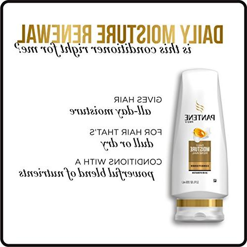 Pantene Moisturizing Dry Hair, Renewal,